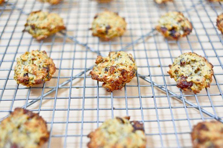 Biscuits sains aux flocons d'avoine pour le petit déjeuner