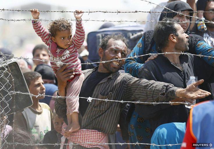 Sýria, Turecko, utečenci