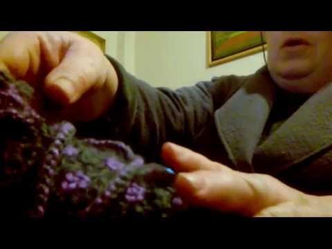 Μωσαϊκό: πασουμάκια με το βελονάκι ή τερλίκια