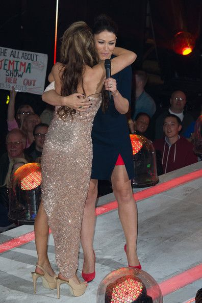 Emma Heming Willis and Jemima Slade Photos Photos - Emma Willis and Jemima Slade is evicted from the Big Brother house at Elstree Studios on June 28, 2013 in Borehamwood, England. - 'Big Brother UK' Evicts a Second Housemate