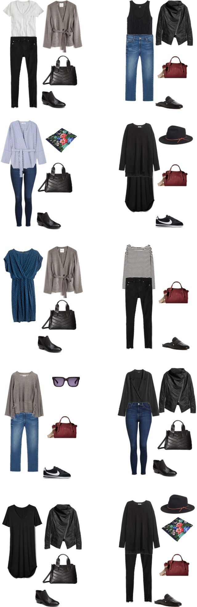 Packing List: 3 weeks in Venice, Italy, in Spring 2017- Outfit Options 2. livelovesara