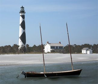 "It's fitting that one of the most strikingly distinctive lighthouses on the eastern seaboard is on a stretch of the Outer Banks that has witnessed everything from hurricanes to malaria, from pirates to Nazi U-boats. To paraphrase Thomas Gray, Cape Lookout has ""read a nation's history in its eye."""