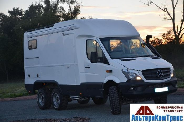 Mercedes benz sprinter 6x6 cooldrive for Mercedes benz caravan
