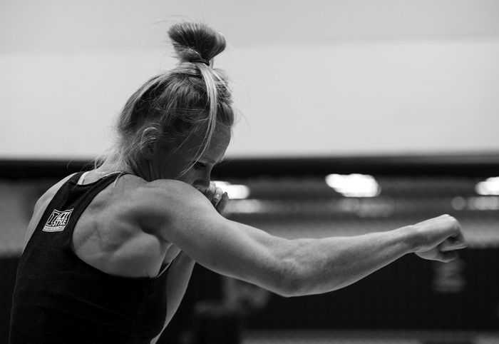 How Holly Holm Killed Queen Ronda Rousey | FIGHTLAND - a great example of fight writing, great information about fighting, with lots of gifs to hit the message home