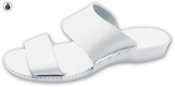 papucs 01 fehér, méret:35-40, ISO20347 OB (csak kereskedőknek,előrendelésre kapható)
