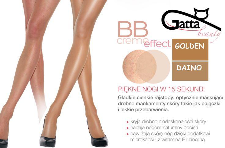 BB CREME effect - Silonky skryjú drobné nedostatky pleti. Dostupné v 2 farbách