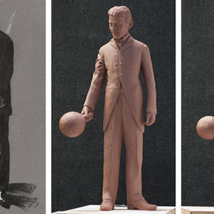A #Kickstarter campaign hopes to raise enough money to erect a #statue of #inventor Nikola #Tesla in #SiliconValley, San Francisco. #technology