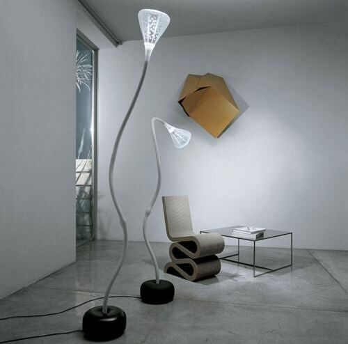 Lampa podłogowa artemide pipe floor