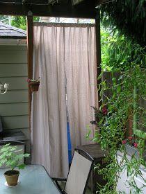 Rindy Mae: 10-Minute Patio Curtain