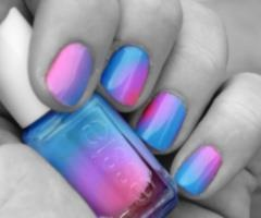 I want!!!Nails Art, Real Life, Nails Colors, Nailpolish, Pretty Nails, Gradient Nails, Ties Dyes, Cotton Candies, Nails Polish