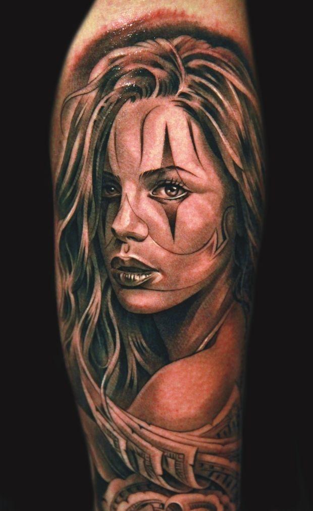 Tattoo by Jun Cha                                                                                                                                                                                 Mais