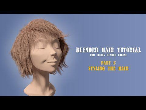 Blender Cycles Hair Tutorial - BlenderNation