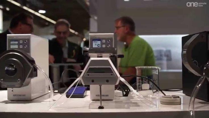 Achema 2015: Produktvideo Hirschmann Laborgeräte GmbH & Co. KG - rotarus...