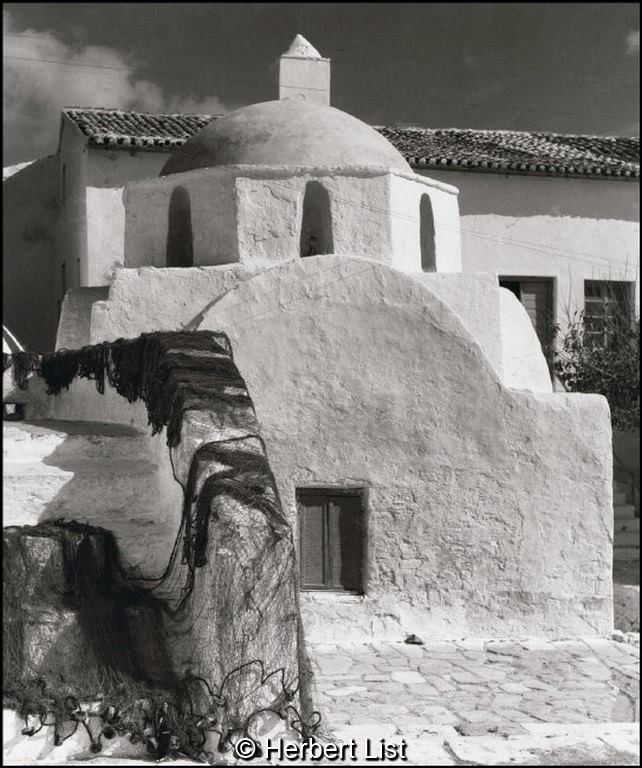Herbert List Μύκονος, 1937-