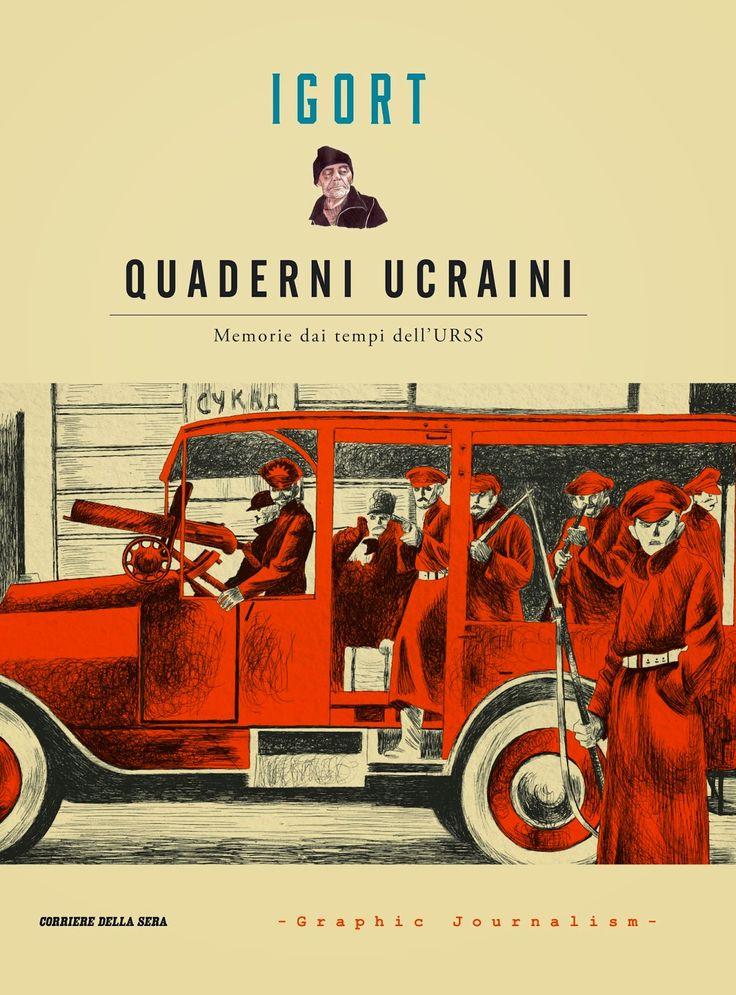 I quaderni di #Igort, o meglio @Quaderniucraini - @Memorie dei tempi dell'#URSS #Ucraina #Novecento #Graphicnovel #Graphicjournalism #Storie #vite Potete leggerne di più su #GlobArts: http://glob-arts.blogspot.it/2014/10/i-quaderni-ucraini-memorie-urss-di-igort-graphic-journalism.html #Chenepensate?