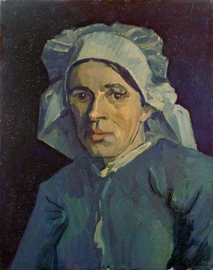 van Gogh - Head of a woman [1884-85]