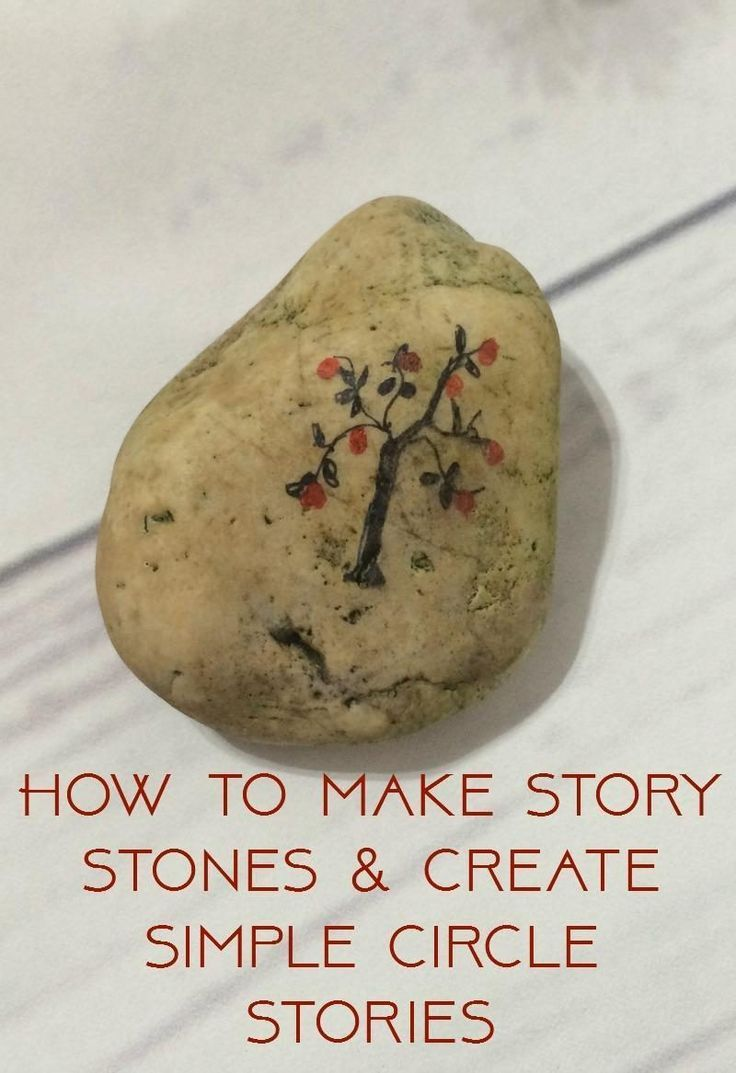 How to make story stones. Here is a super simple nature craft along with ideas on how to create simple storytelling through story circles. For children of all ages to encourage imagination and creativity in kids