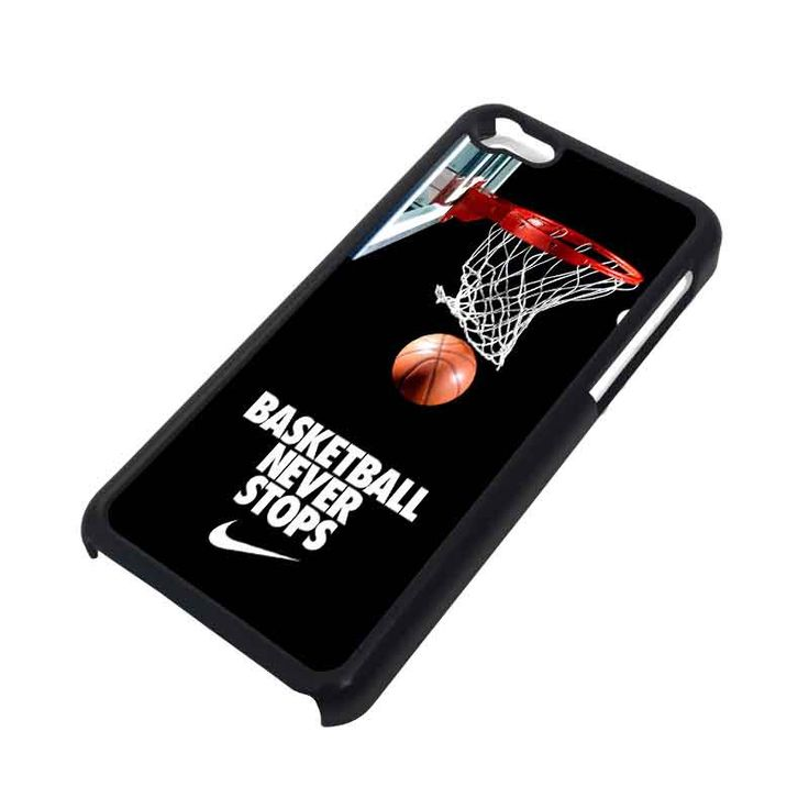 BASKETBALL NEVER STOPS iPhone 5C Case – favocase