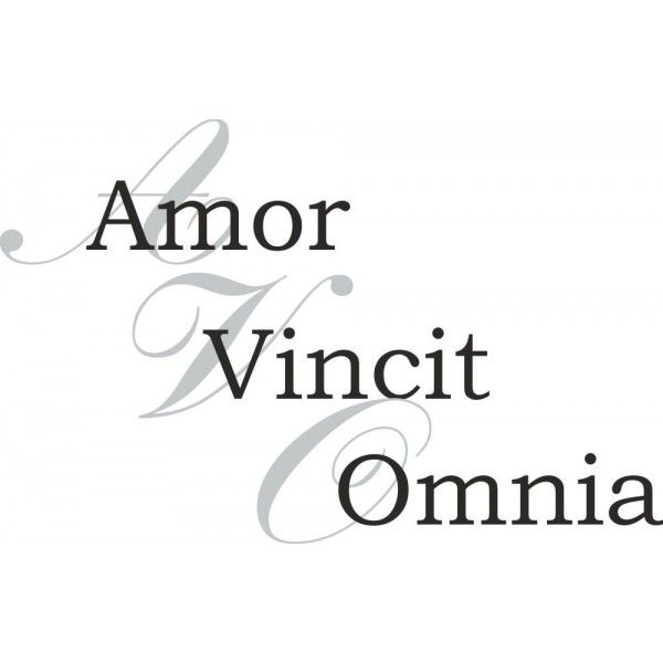 Love conquers all latin something is