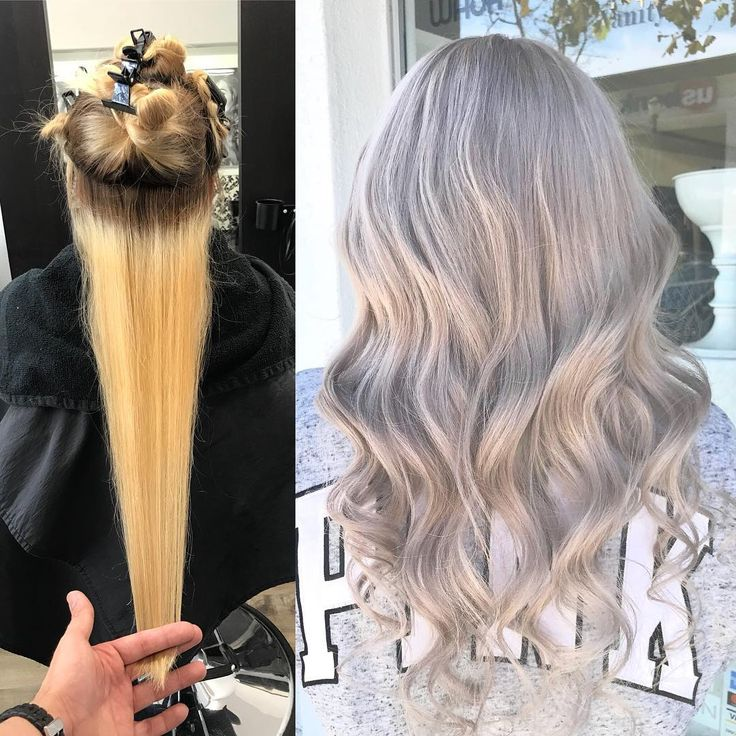 Platinum icesliver whiteshades of platinum blonde #color #correction #transformation #shades #of #platnium #blonde #hair #icy #cool #tones #behindthechair #modernsalon #redkenshadeseq #haircolor #vanityblowoutandmakeupbar #vanityblowout #hairsalon #uptown #downey #california #losangeles