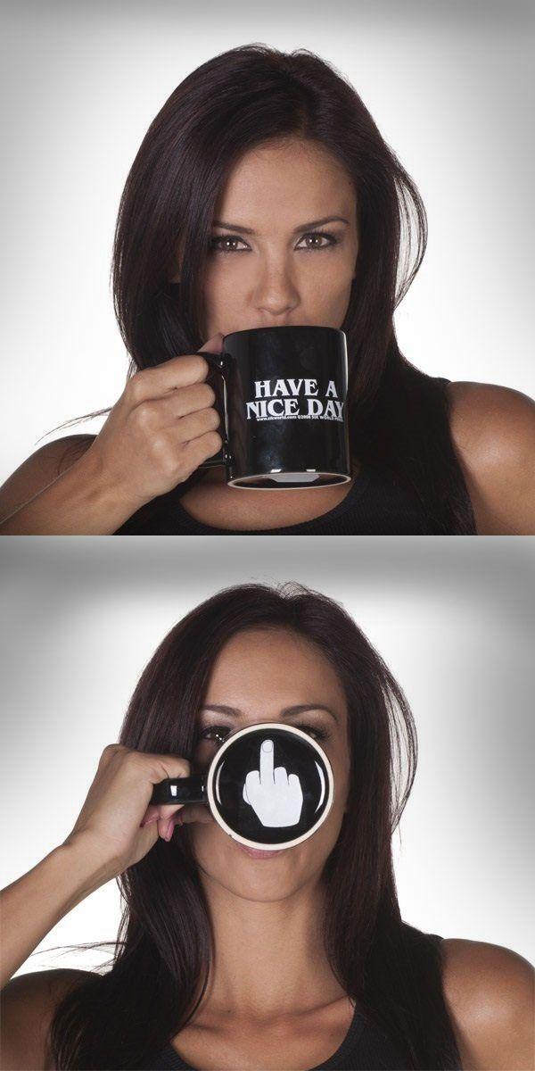 HAVE A NICE DAY Funny Coffee Mug @thistookmymoney