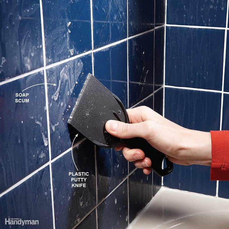 Remove Bathroom Soap Scum - Soap has a nasty way of forming a hard-to-remove film on tile in tubs and showers. You won't get rid of it by rubbing. Instead, wait for the surface to dry, then scrape off the scum with a 4-in. plastic putty knife. For grout lines and textured surfaces, use a Mr. Clean Magic Eraser. To prevent soap scum buildup, stop using real soap and start using a synthetic. Chemically speaking, any soap in a liquid or gel form, and some bar soaps (Zest and Ivory), are…