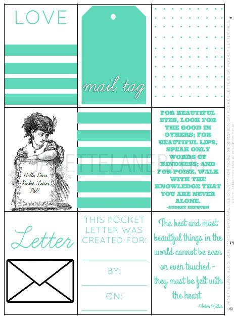 Pocket Letter Pals™ Download (Teal) / Pocket Letters
