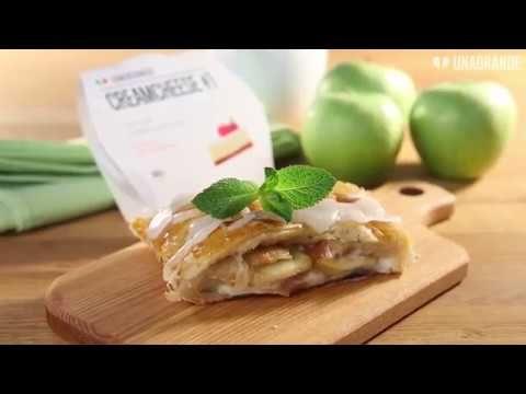 Яблочный пирог со сливочным сыром