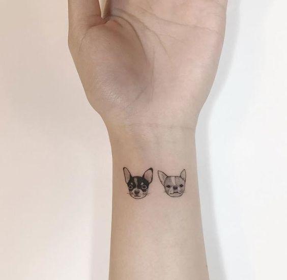 12 #tatuajes de #chihuahuas que te enamorarán