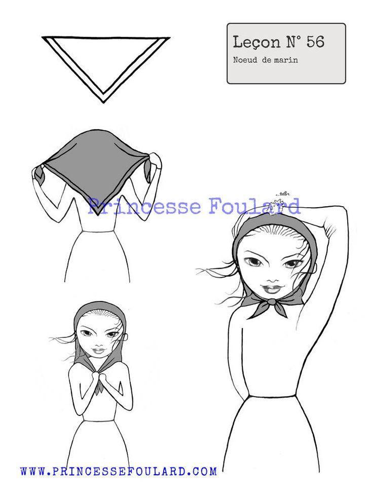 237 best images about nouer foulard dans les cheveux on. Black Bedroom Furniture Sets. Home Design Ideas