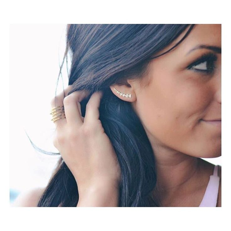 The EAR CLIMBERS from Stella and Dot are everything!  www.stelladot.com/jenagreen