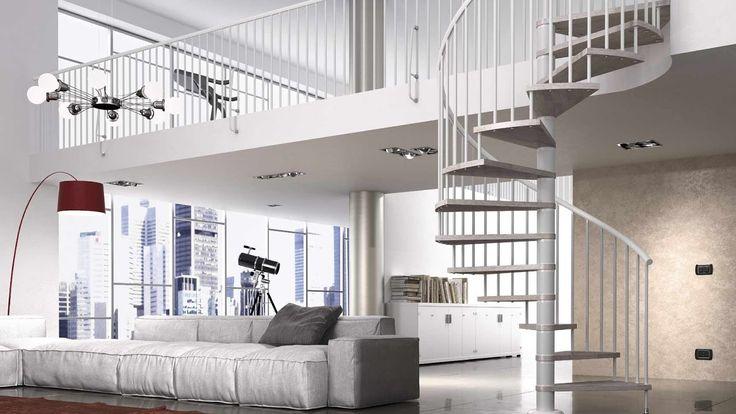 100 IDEAS ESCALERAS PARA ESPACIOS REDUCIDOS(Ladder for confined spaces)