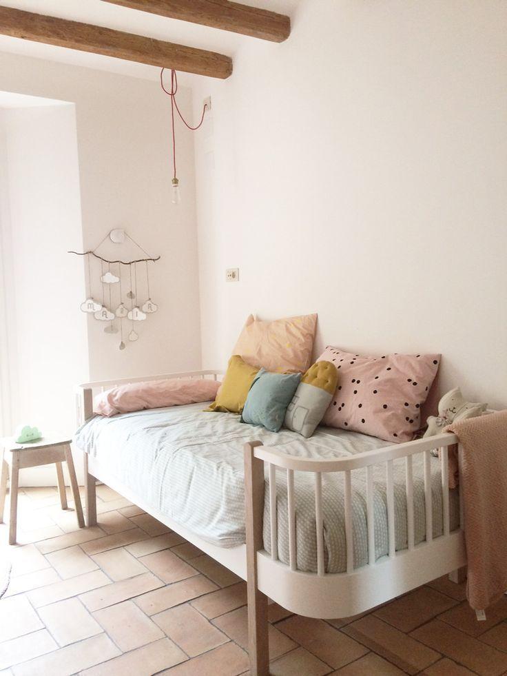 kids room in pastel colors