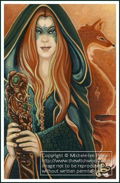 Commission - Fox Magics by *ravynnephelan on deviantART