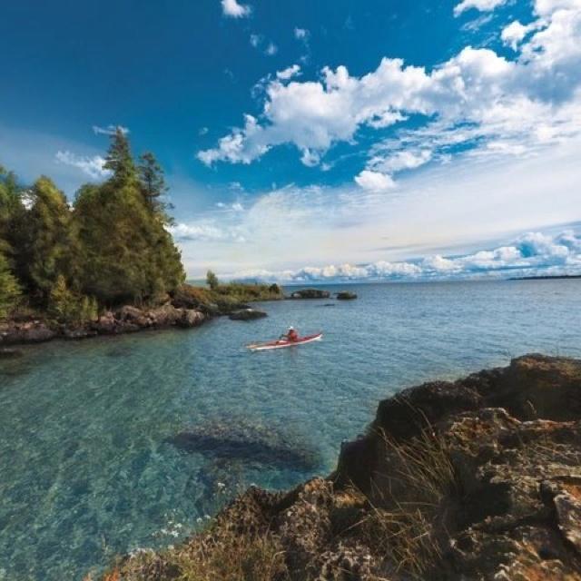 Michigan, Les Cheneaux Islands in Lake Huron