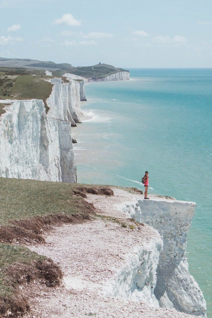 The Seven Sister's Hike, East Sussex, UK