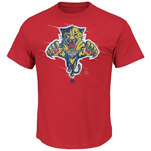 NHL Florida Panthers Men's Pond Hockey Tee, Red, Small