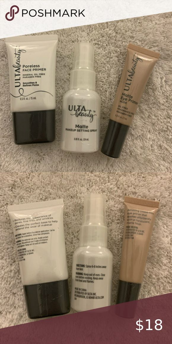 3/35💗 Ulta Primers & Setting Spray 3 new and sealed Ulta