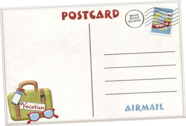 Résultats de recherche d'images pour «carte postale vacances dessin»