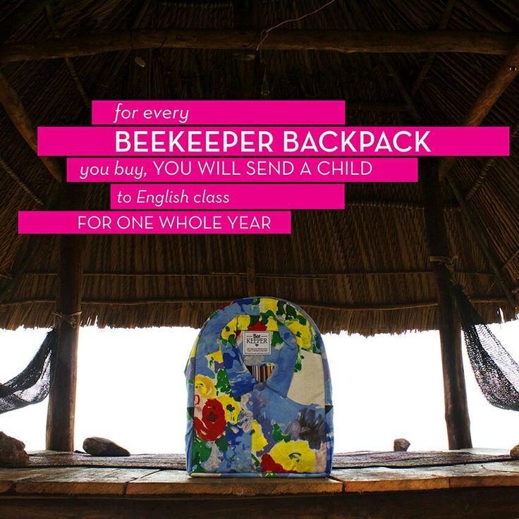 BeeKeeper Classic Backpack #beemore #backpack www.beekeeperglobal.com