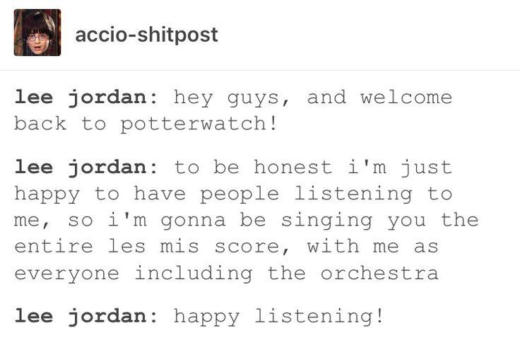 Lee Jordan, Harry Potter, hp