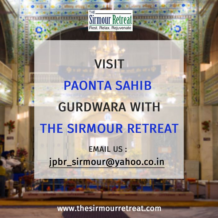 A small hill site in the charming state, the gateway town to #HimachalPradesh, #PaontaSahib is an industrial town 80 km from Nahan. Hotel #SirmourRetreat is one of the most sought property near Paonta Sahib.