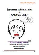 Fonética y Fonología: EJERCICIOS DE PREPARACION FONEMAS /RR/, /D/ Y /L/