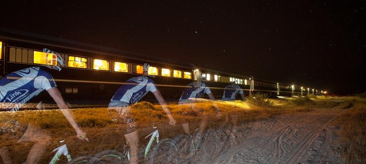 Rovos Rail MTB ride