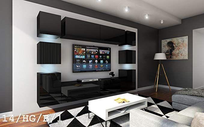 Future 14 Wohnwand Anbauwand Wand Schrank Mobel Tv Schrank
