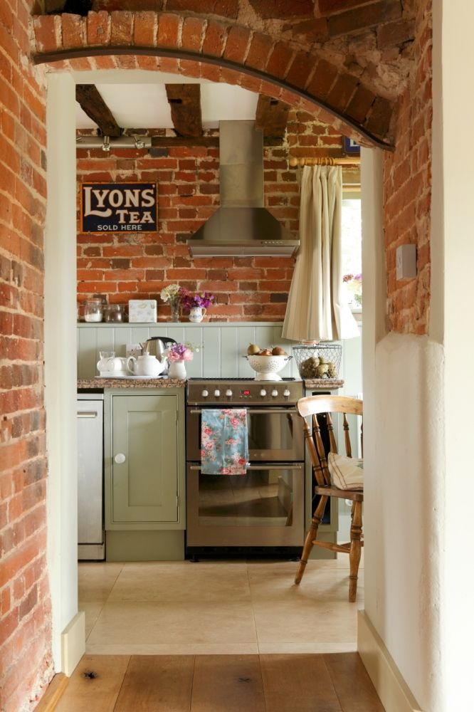 Small Country Cottage Kitchens