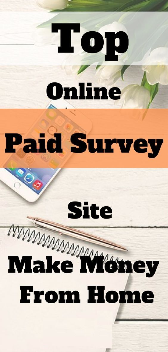 How To Make Money From Home With Online Paid Survey Site. – Make Money Online