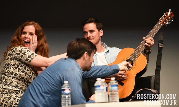 Rebecca Mader, Colin O'Donoghue and Liam Garrigan - Convention Fairy Tales