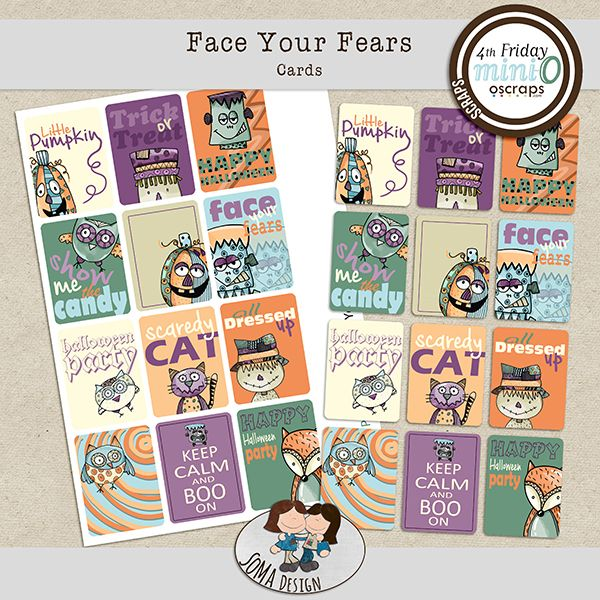 SoMa Design: Face Your Fears - Cards