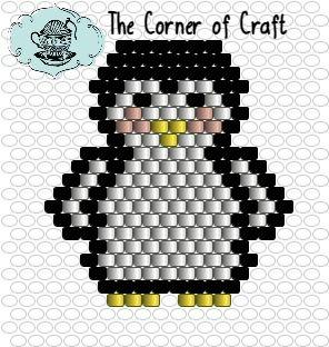Bienvenue sur le Cozy Corner of Craft: motif de perlage gratuit
